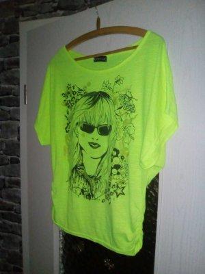 tolles T-Shirt neongelb