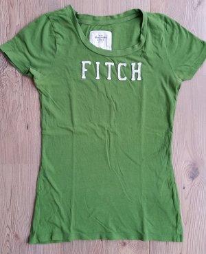 Tolles T-Shirt von Abercrombie & Fitch, grasgrün, Gr. M (S)
