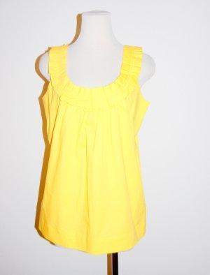 tolles Top - Trägershirt - Bluse in gelb von Comma Gr.38