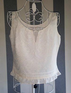 Laurèl Blouse Top natural white cotton