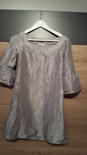 Tolles Tunika/Top/PartyKleid in Silber