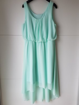 Tolles Vokuhila-Kleid in pastell-mint