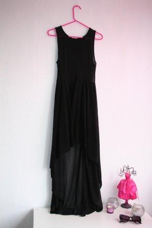 tolles vokuhila kleid in schwarz