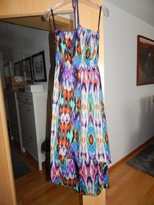 Primark High Low Dress multicolored polyester