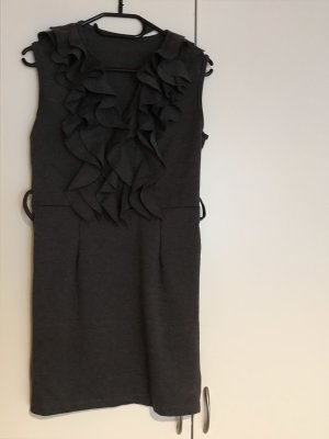 Made in Italy Flounce Dress anthracite