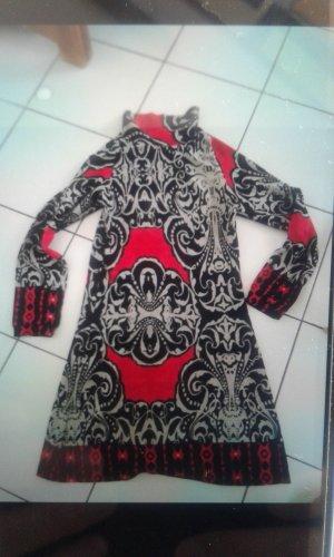 Vestido de lana multicolor