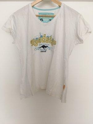 Roadsign australia T-shirt wit