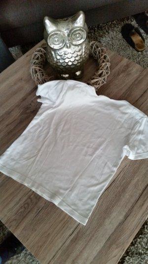 Tolles weisses T-Shirt Gr. 38 M v. ESPRIT