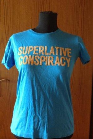 Tolles WESC T-Shirt blau orange