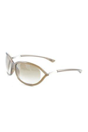 Tom Ford Occhiale marrone chiaro stile casual