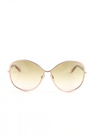 Tom Ford Butterfly Glasses brown casual look