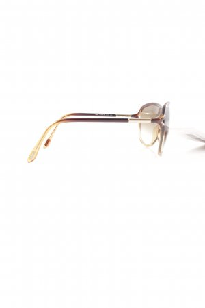 Tom Ford Butterfly Glasses brown-gold-colored color gradient business style