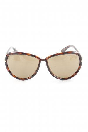Tom Ford Butterfly Brille Tortoisemuster Casual-Look