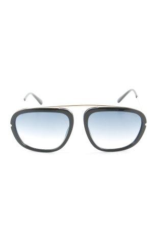 Tom Ford Angular Shaped Sunglasses color gradient street-fashion look