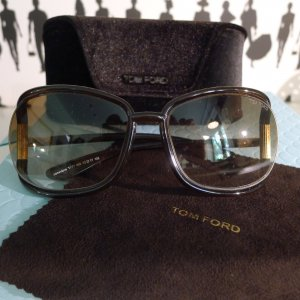 Tom Ford Occhiale marrone scuro Materiale sintetico