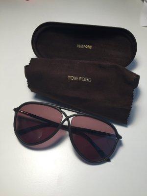 Tom Ford Pilotenbrille - dunkelbraun fast schwarz - wie neu - sonnenbrille