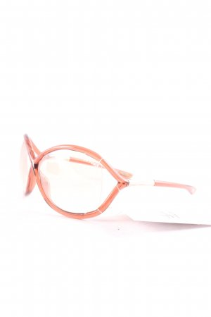Tom Ford runde Sonnenbrille rosa Casual-Look