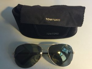 Tom Ford Gafas de piloto color oro-marrón