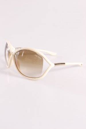 Tom Ford Sonnenbrille creme