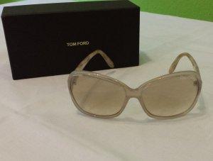 Tom Ford Sonnenbrille Ivory Square Frame Lucent