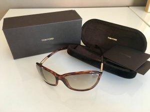 "Tom Ford Sonnenbrille ""Jennifer"" in braun - ORIGINAL -"