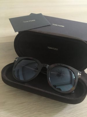 Tom Ford Round Sunglasses brown