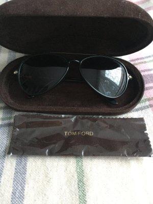 Tom Ford Sonnenbrille RAMONE Schwarz/Braun
