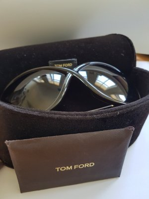Tom Ford Sonnenbrille Whitney in dunkelbraun