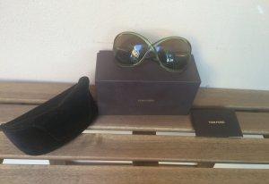 Tom Ford Sonnenbrille Whitney m. Zertifikat hellgrüner Rahmen see-through