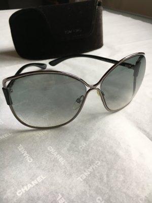 Tom Ford TF 0155 Emmeline Sonnenbrille in grüngrau schwarz