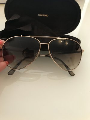 Tom Ford Aviator Glasses pink-gold-colored