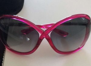 Tom Ford Butterfly bril roze-magenta
