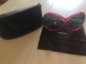 Tom Ford Butterfly Glasses pink-magenta