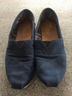 Tom's Espadrilles Navy