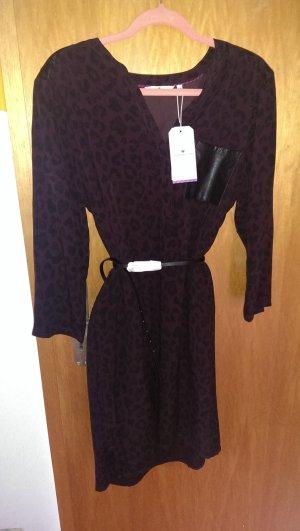Tom Tailer Fokuhila-Kleid mit Gürtel