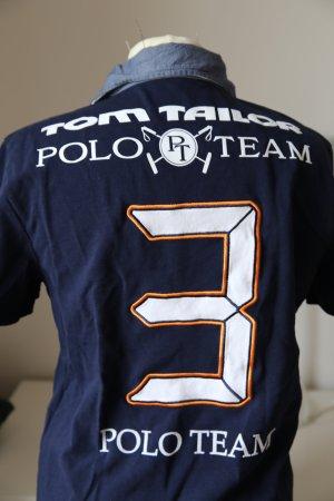 Tom Tailer Polo Team Tshirt blau M