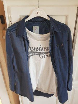 Tom Tailor Denim Jeans blouse blauw