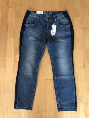 Tom Tailor 7/8 Boyfriend Jeans Relaxed Tapered 30/30 Gr. 40 Neu