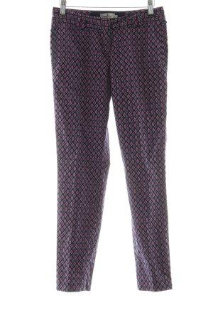 Tom Tailor Pantalone a 7/8 motivo astratto stile professionale
