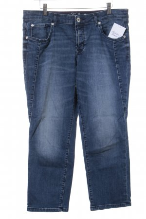 Tom Tailor 7/8 Jeans dunkelblau Casual-Look