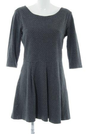 Tom Tailor A-Linien Kleid hellgrau Casual-Look