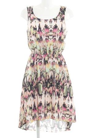 Tom Tailor A-Linien Kleid abstraktes Muster Casual-Look