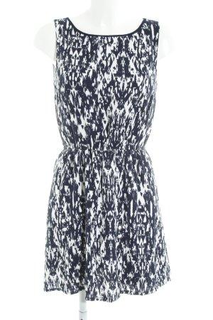Tom Tailor A-Linien Kleid dunkelblau-weiß Farbverlauf Casual-Look