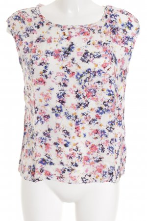 Tom Tailor ärmellose Bluse florales Muster Casual-Look