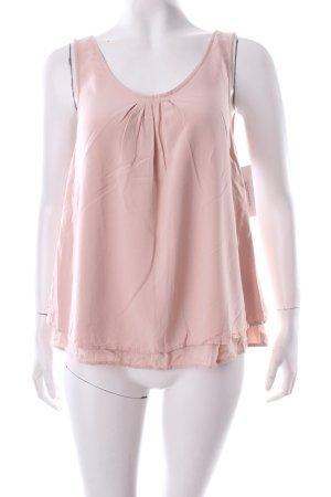 Tom Tailor ärmellose Bluse rosé Lagen-Look