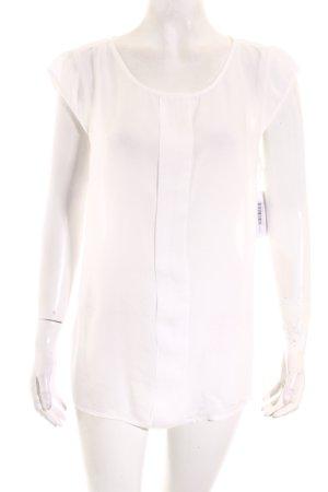 Tom Tailor ärmellose Bluse weiß schlichter Stil