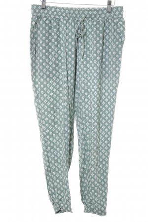 Tom Tailor Baggy Pants white-sage green abstract print Boho look