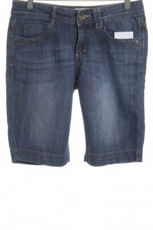 Tom Tailor Bermuda blau Casual-Look