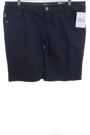 Tom Tailor Bermuda dunkelblau Casual-Look