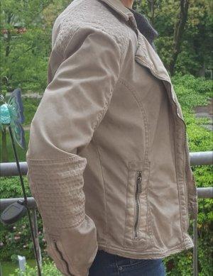 Tom Tailor Bikerjack grijs-bruin